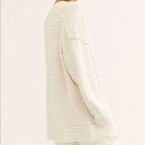 Free People • High Hopes Ivory Cardi Sweater